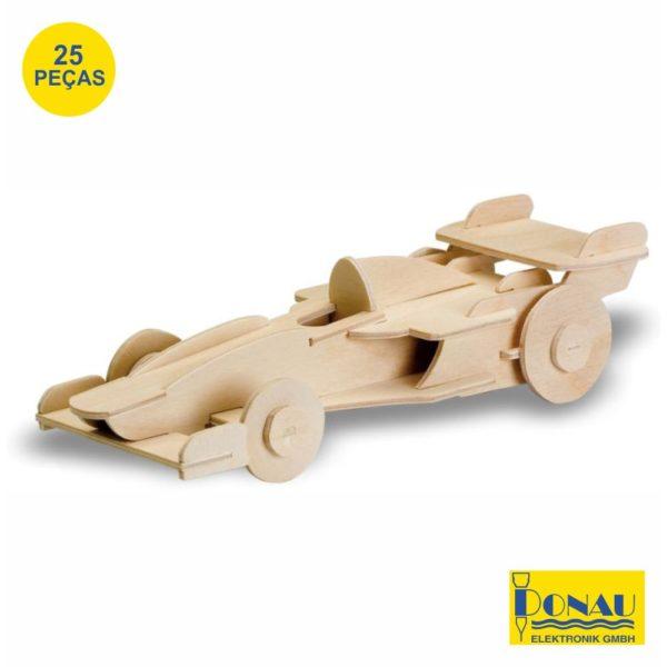 "Kit modelismo madeira ""Carro F1"""