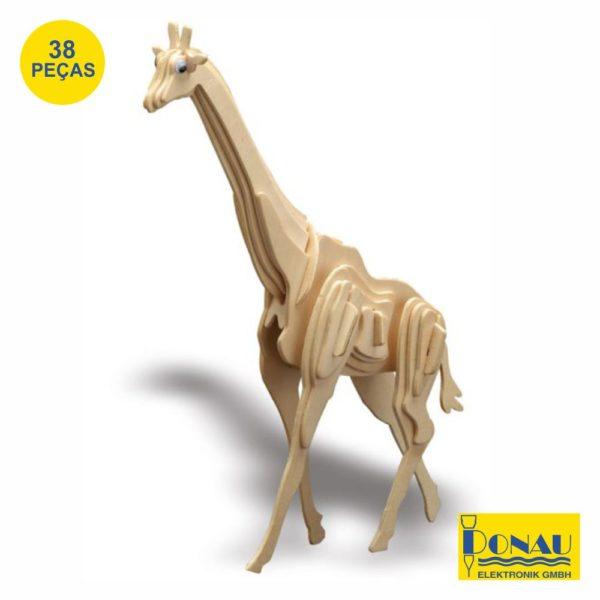 """Kit modelismo madeira """"Girafa"""""""