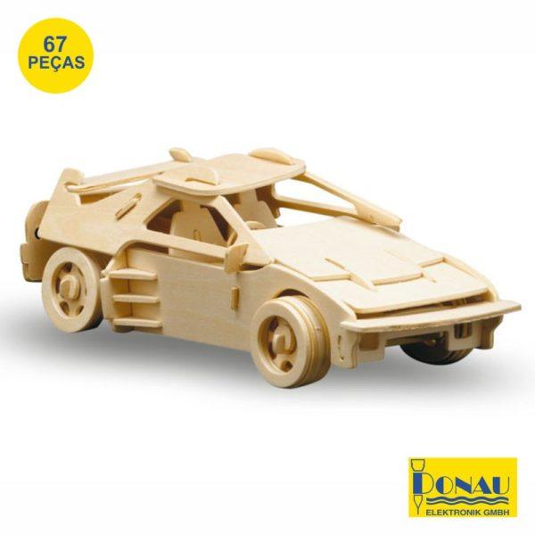 "Kit modelismo madeira ""Carro desportivo BTF"""