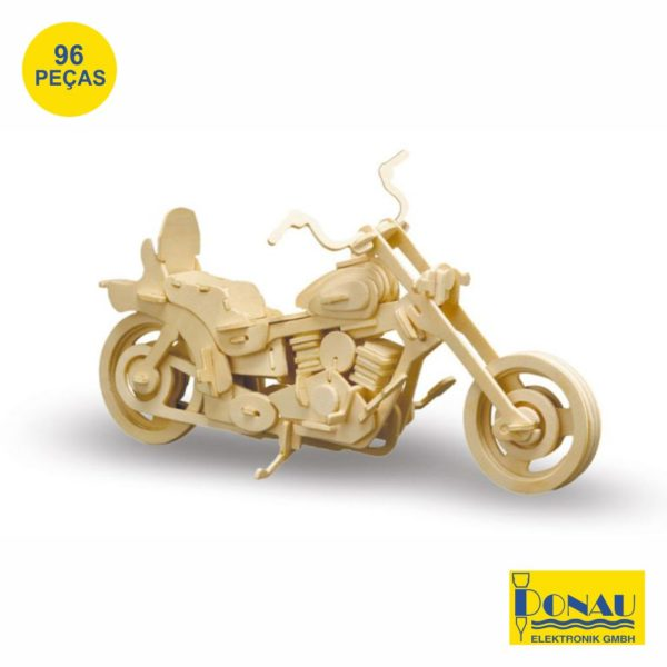 "Kit modelismo madeira ""Harley Davidson"""