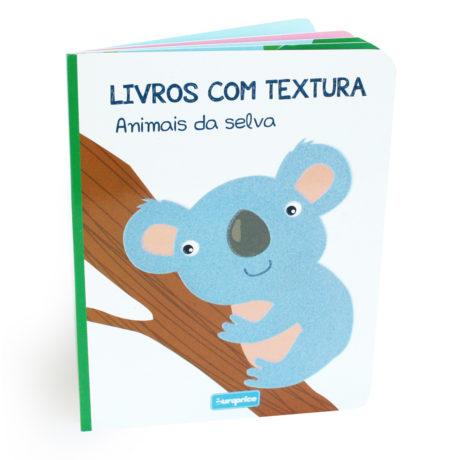 Livros Com Textura - Animais da Selva