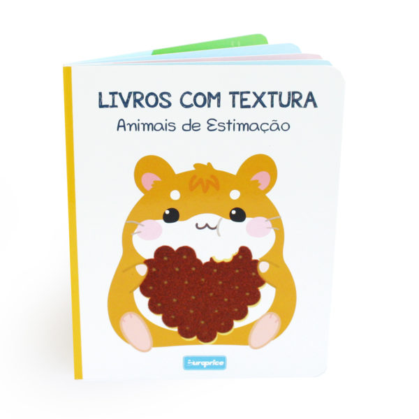 Livros Com Textura - Animais de Estimação