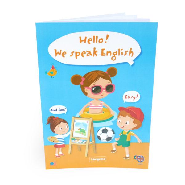 Hello! We Speak English!