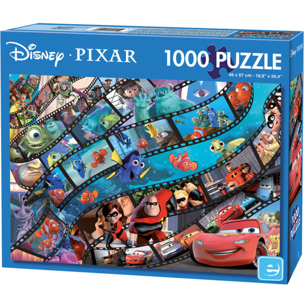 Puzzle Filmes Da Pixar 1000 Pcs