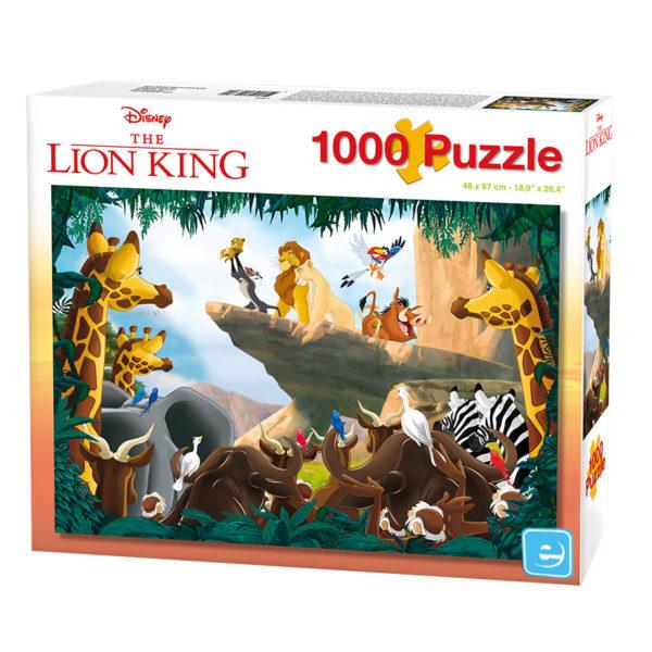 Puzzle Coleção Rei Leão 1000 Pcs