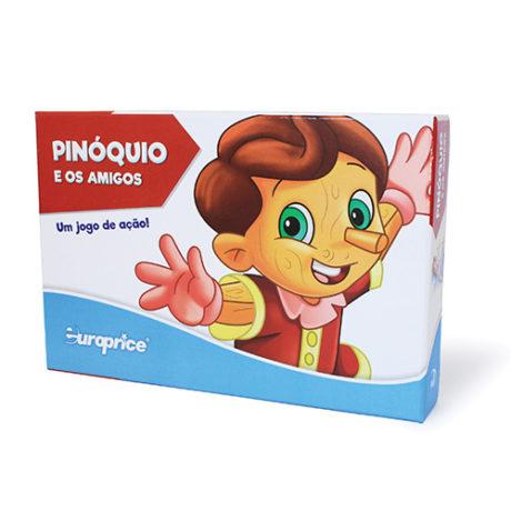 Pinóquio E Os Amigos - Um Jogo De Ação!