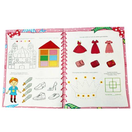 O Meu Caderno - Das Princesas