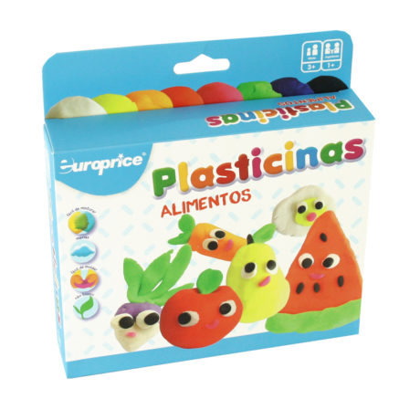 KIt De Plasticinas - Alimentos