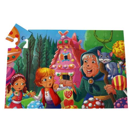 Clássicos com Puzzle - Hansel e Gretel