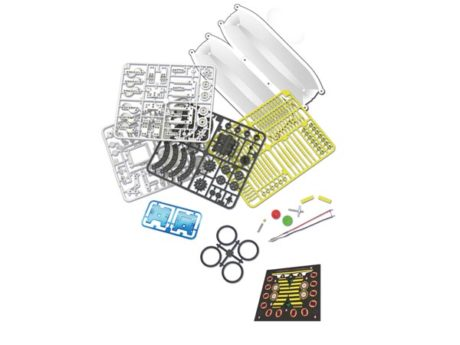 KIT ROBOT SOLAR EDUCATIVO 14-em-1