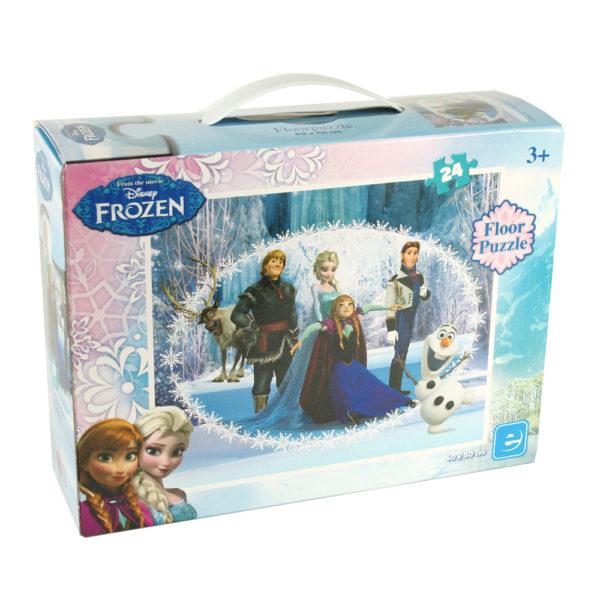 Puzzles Disney Frozen De Chão 24 Pcs