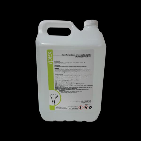 Desinfetante Evaporação Rápida – IPEXDESINFECT ER 5L