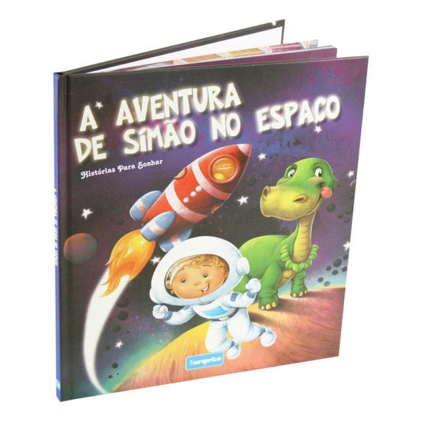 Histórias Para Sonhar - A Aventura De Simão No Espaço