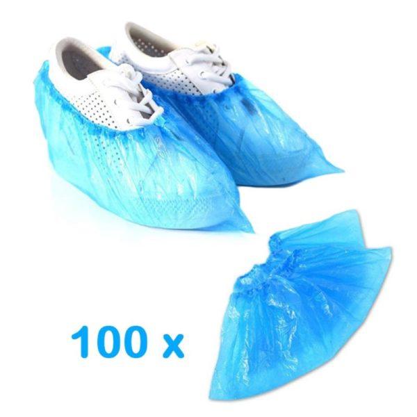 Proteção P/ Sapatos Descartável 100 Unidades